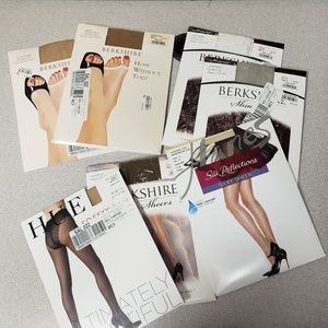 7 Pairs of Hosiery Size 2